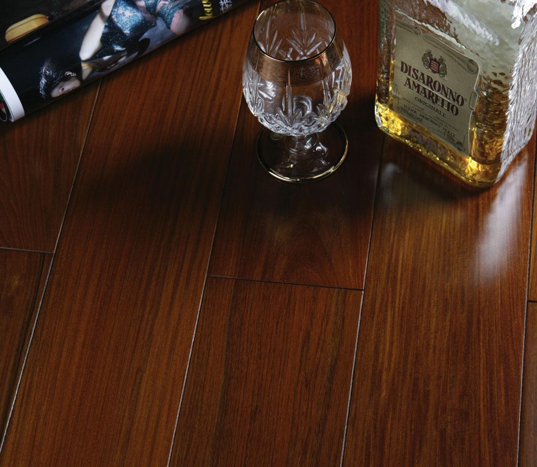 富林紫檀STI2084实木地板STI2084