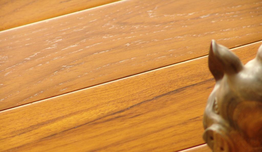 安信实木地板柚木900*120*18mm(素板)柚木