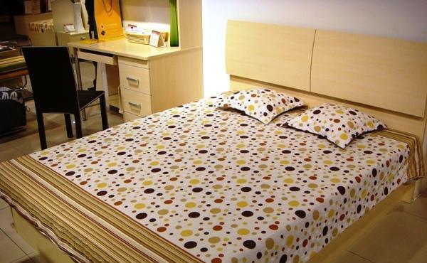 五木板式家具系列-双人床WD-42WD-42