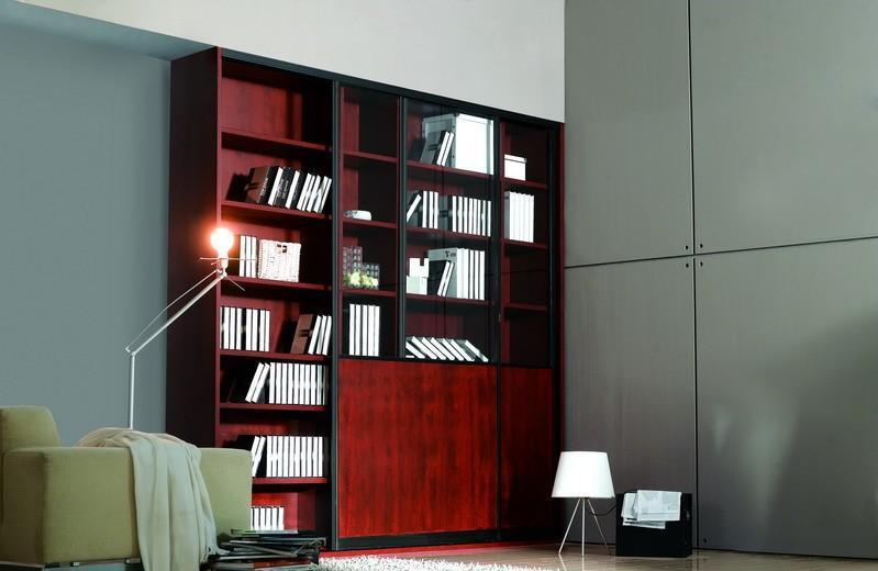 顶固红樱桃书柜红樱桃