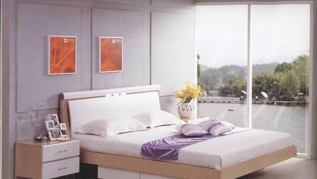 森盛家具卧室套装白榉系列06(床屏)A2083