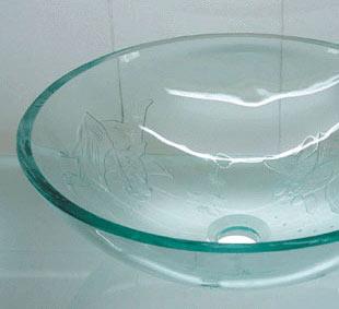古亚单层玻璃盆D792