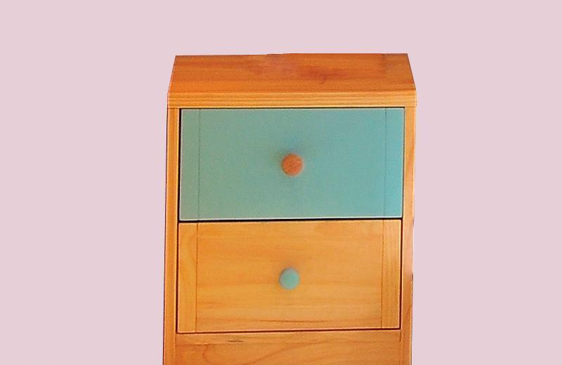 爱心城堡儿童家具床头柜J014-BW1J014-BW1