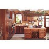 金牌厨柜古韵系列圣罗莎-实木