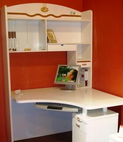 双虎书房家具-转角桌B802转角桌B802