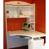 双虎书房家具-转角桌B802