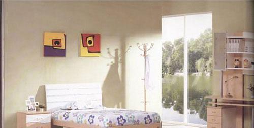 森盛家具卧室套装白榉系列16(床)A98-17