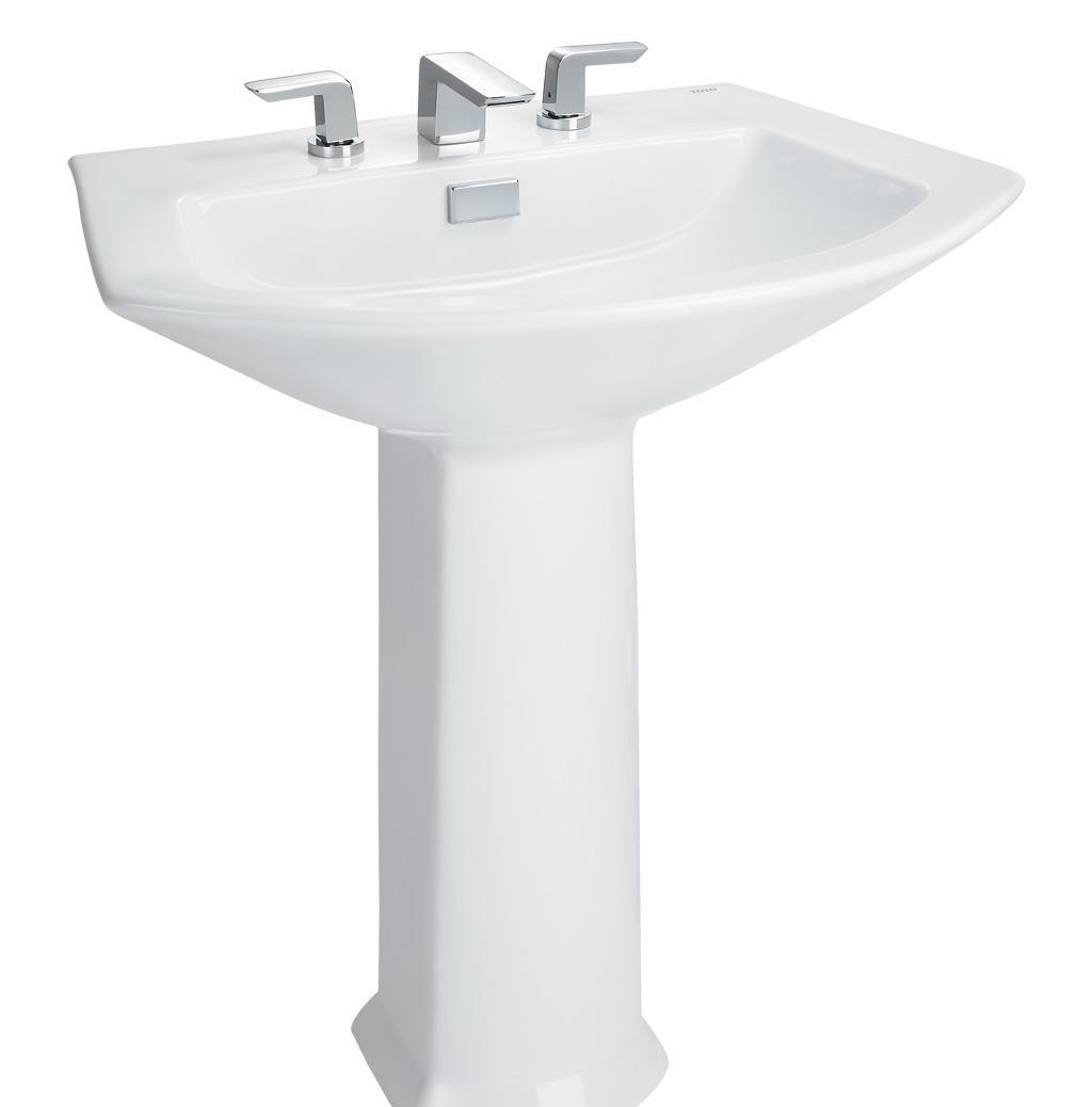 TOTO立柱式洗脸盆LW960B-LW960FBLW960B-LW960FB
