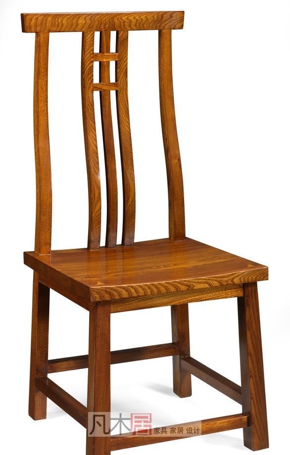 凡木居简约日式系列A2008餐椅A2008