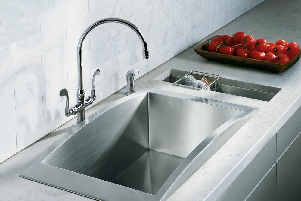 科勒- 斯薇芙 单槽台上厨盆K-3153-NAK-3153-NA