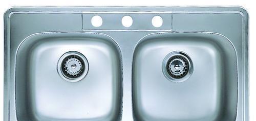 摩恩双槽不锈钢厨盆2324623246
