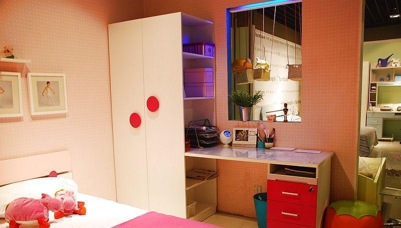 多喜爱儿童家具电脑桌 衣柜+书台BD24BD24