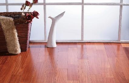 富林新贵典藏系列STS1383实木地板-红檀香