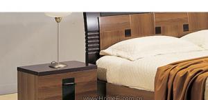 皇朝家私床头柜浅胡桃系列5C685C68