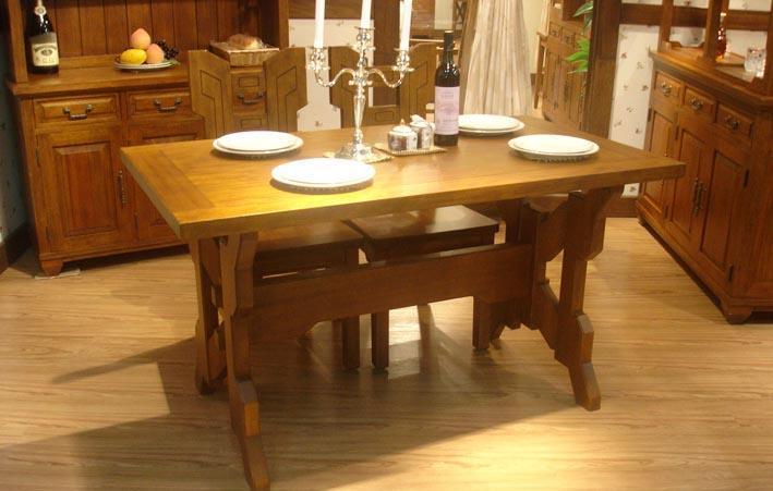 树之语美丽园系列TYW-035长餐桌TYW-035