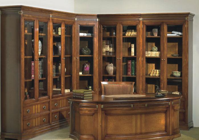 大风范家具积家传奇书房系列JE-550转角书柜JE-550转角书柜