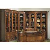大风范家具积家传奇书房系列JE-550转角书柜
