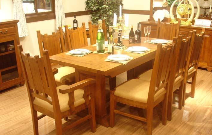树之语美丽园系列TYW-034-18长餐桌TYW-034-18