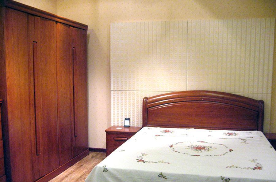 东升实木家具B1805高箱床