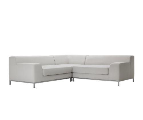 宜家2+2克莱弗(利斯德 淡灰色)转角沙发