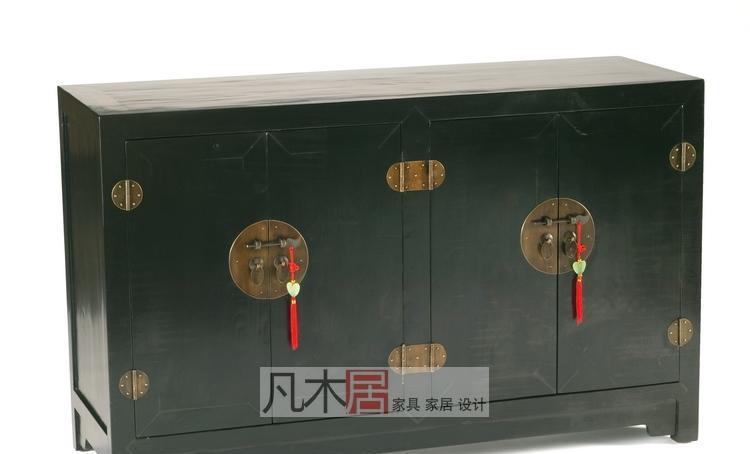 凡木居现代中式系列A3019四门小连体柜CW07A3019