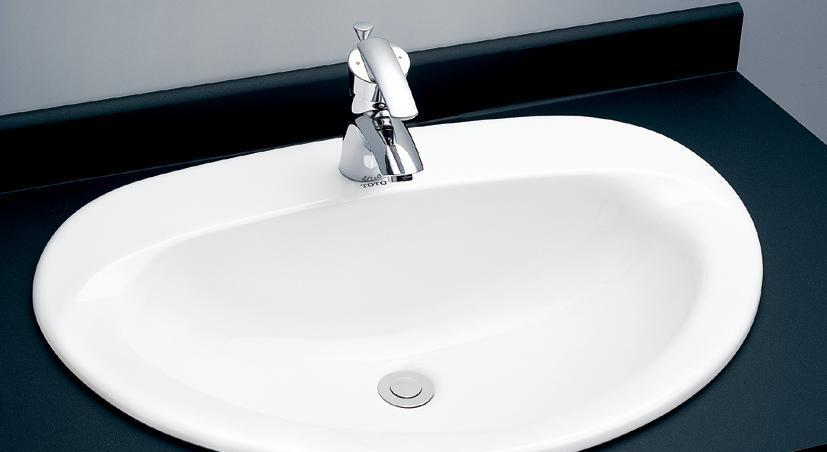 TOTO台上式洗面盆LW988CBLW988CB