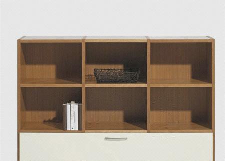 北山家居书房家具书柜2AA021A102AA021A10