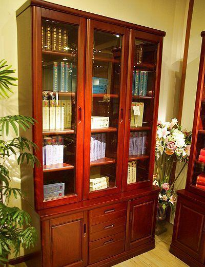 光明书房家具三门书柜001-6312F-1244001-6312F-1244
