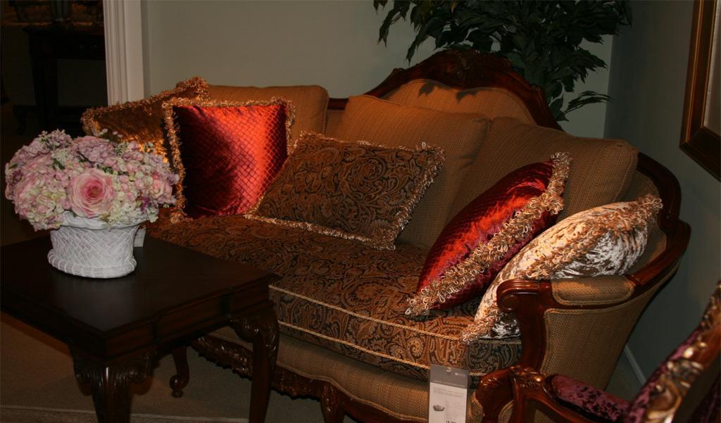 美克美家MK7540-1 2N429 M08布艺三人沙发MK7540-1