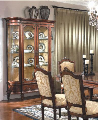 大风范家具路易十六餐厅系列LV-751-2双门酒柜LV-751-2双门酒柜