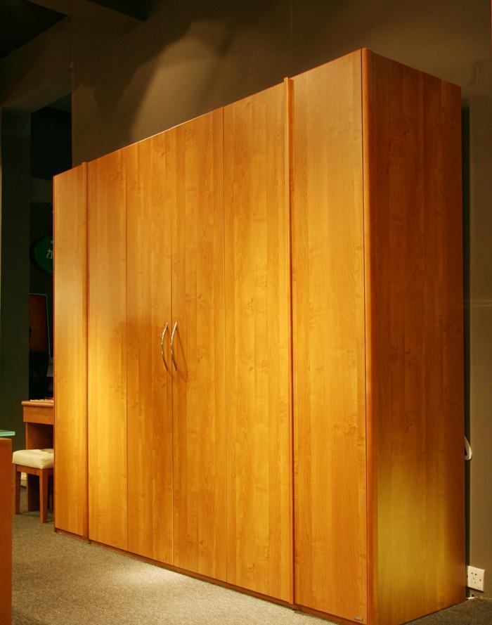 健威家具-加州缘系列-梨木大衣柜(两门)梨木大衣柜(两门)