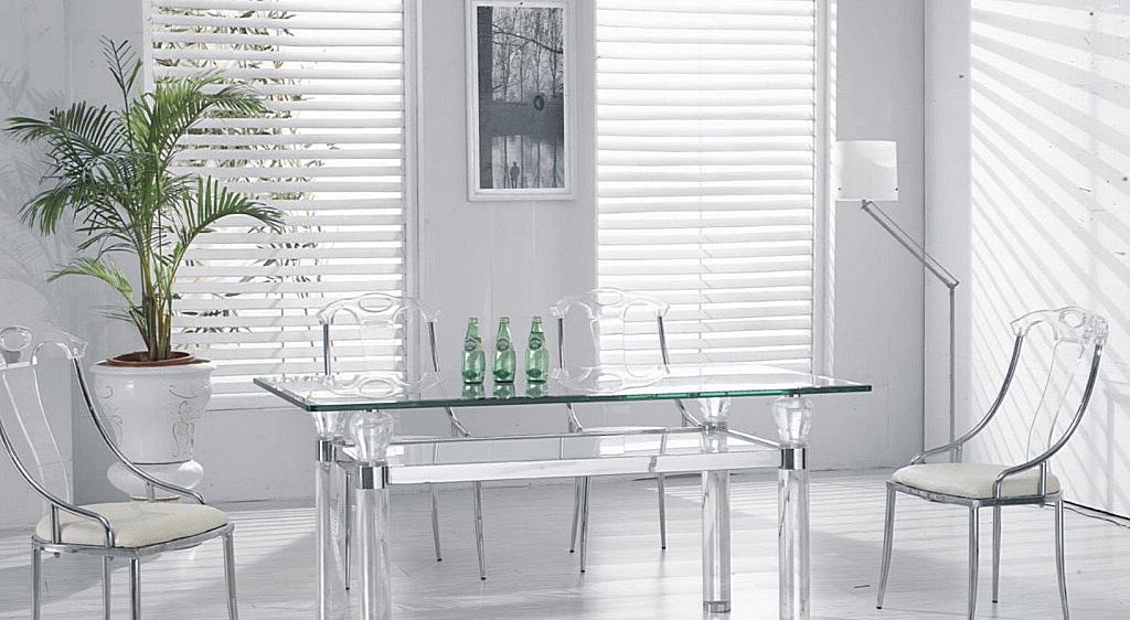 朗臣时尚透明系列DLY-T870餐桌DLY-T870