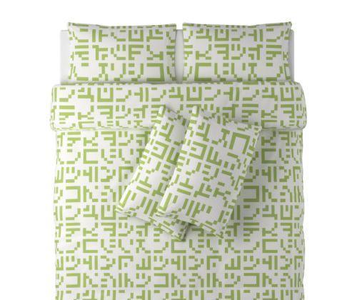 宜家被套和2个枕套-胡尔达-泰克纳(240*220cm)胡尔达-泰克纳