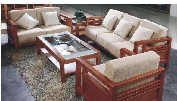 华源轩客厅樱桃2代系列SF2802B双人沙发SF2802B
