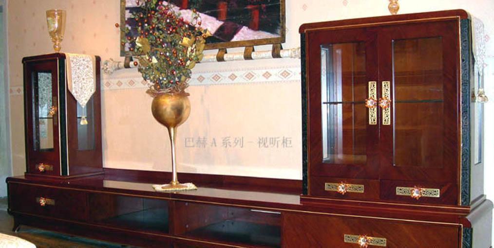 标致客厅家具-巴赫系列-厅柜1厅柜1