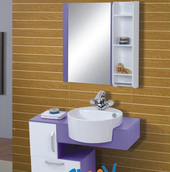 顺一J113实木浴室柜J113