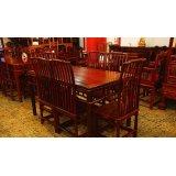 元亨利家具梳背式餐桌/椅E-S-0487-19