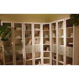 优美家书房家具整体书房两门+三门+转角