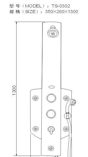 阿波罗淋浴屏TS系列TS-0302TS-0302