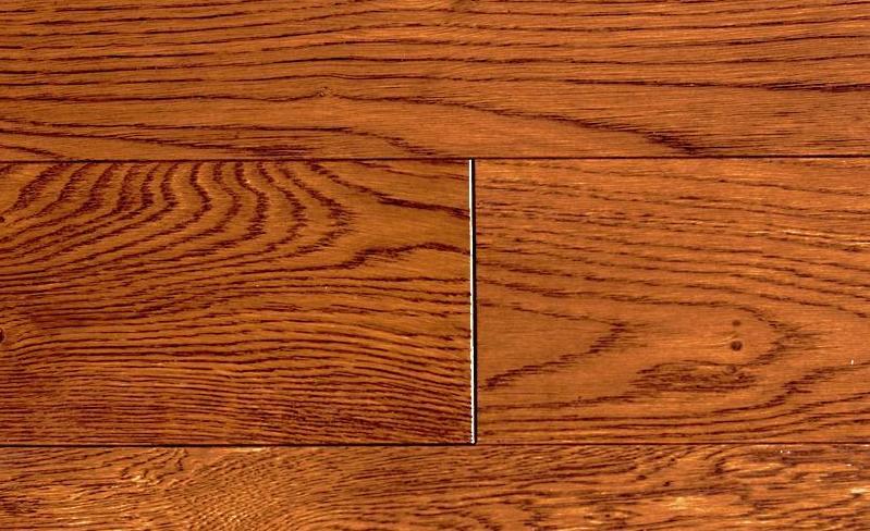 福斯实木地板水纹面系列卡拉棕色