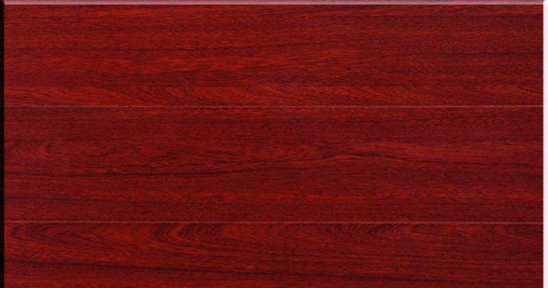 亚马迅・得福强化复合地板绿色心情模压系列巴西巴西红檀3809#