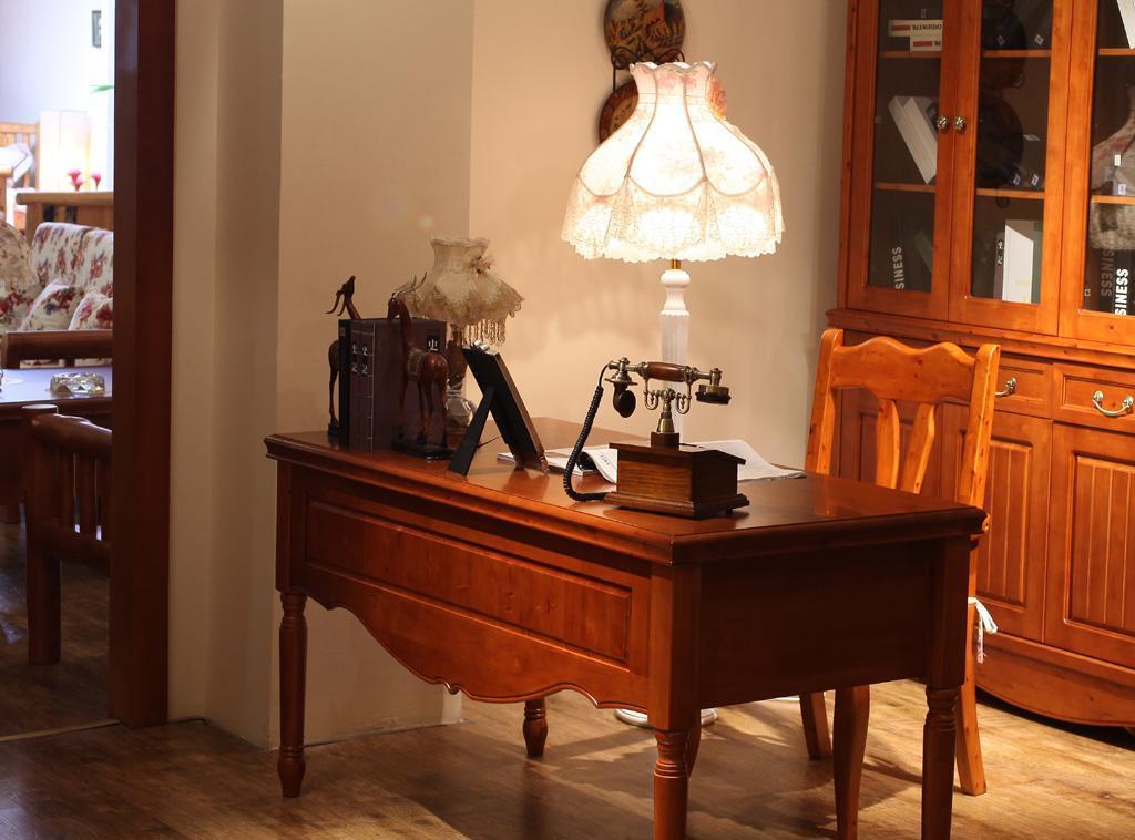 树之语艾丁堡柏木系列FS8035书桌FS8035