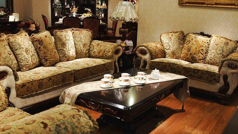 中信沃伦客厅家具606-3(三位)沙发606-2