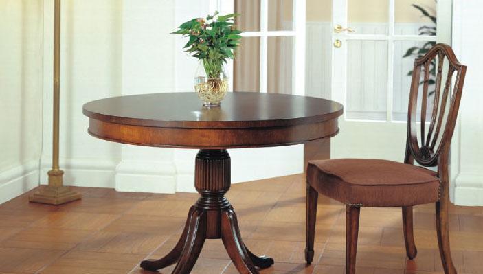 大风范家具低调伯爵餐厅系列CL-712圆桌