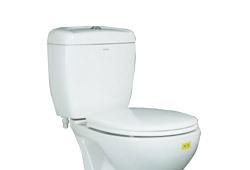 箭牌后排水分体座厕(白)AB2107H/AS8107DAB2107H/AS8107D