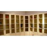 五木书房家具-L转角书柜WD-18