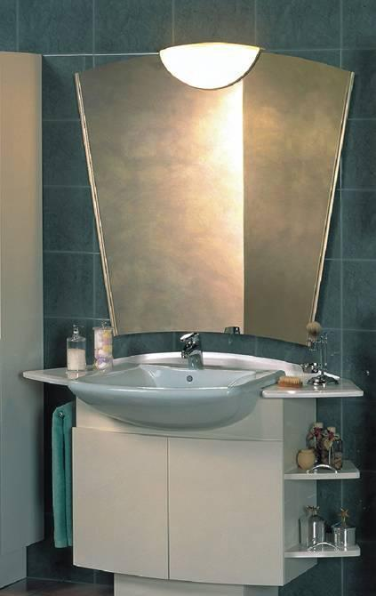 乐家卫浴瑞嘉特洗脸盆柜带毛巾杆和托架85331060853310600