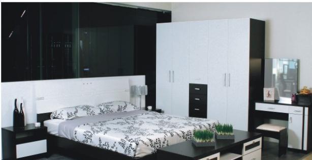 华源轩卧室床头黑橡配白系列T-R302ALT-R302AL