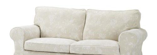 宜家爱克托(瑞德比 淡米色)双人沙发