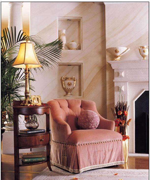 梵思豪宅客厅家具OP5100SF1p沙发OP5100SF1p